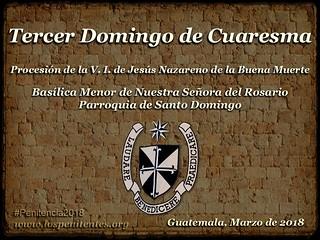 Tercer Domingo de Cuaresma, Santo Domingo