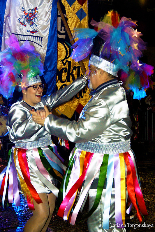 Карнавальная группа из Риеки на херцегновском карнавале