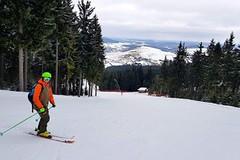 SNOW tour: Klínovec – tříkilometrová sjezdovka a Krakonošův oheň