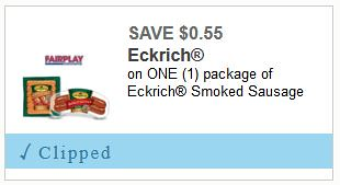 photograph regarding Meijer Printable Coupons named $1.77 Eckrich Sausage at Meijer with Printable Discount codes