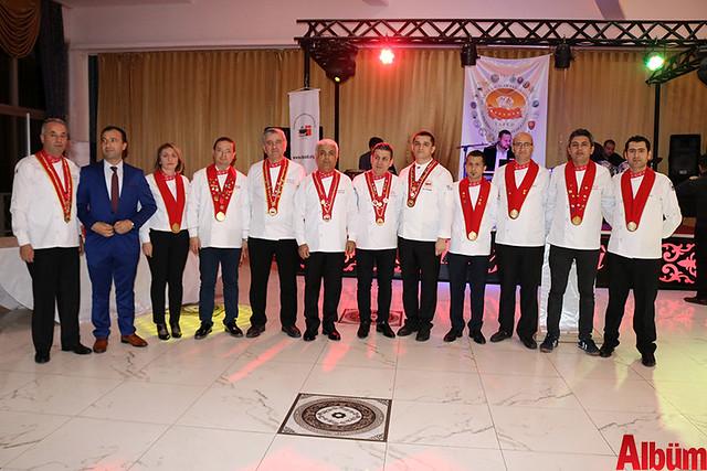 Akdeniz Profesyonel Aşçılar Birliği plaket töreni