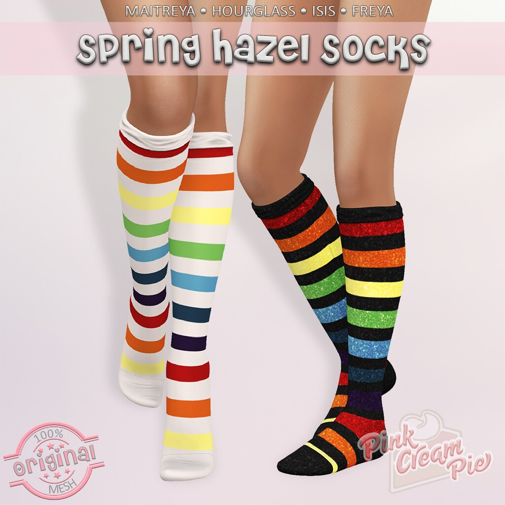 Hazel Spring Socks @ Fly Buy Fridays!