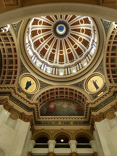 Pennsylvania State Capitol dome roof interior (4789)