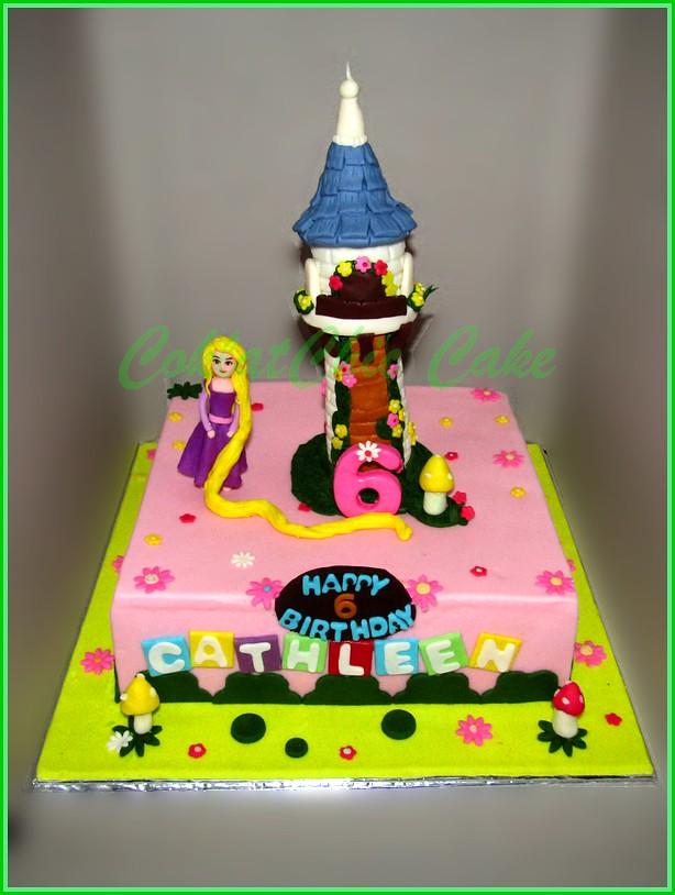 Cake Rapunzel CATHLEEN 22 cm