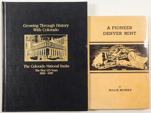 denver Mint and Colorado Banks books