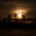 Månuppgång över Bennäsvägen