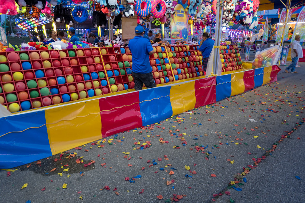 Iowa State Fair Carnival Games