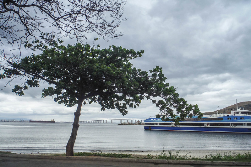 Our ferry to Niterói Brasilia Brazil Rio de Janeiro