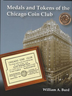 MEdals and Tokens of the Chicago Coin Club book cover