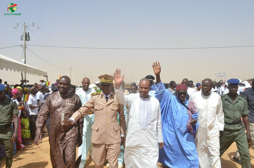 Inauguration d'infrastructures  de base à Mbakhna Par la Fondation SONATEL (26)