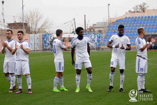 FC Banants vs FC Alashkert 0-1