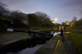 The Walsall Branch Canal, Birchills, Walsall 27/12/2017