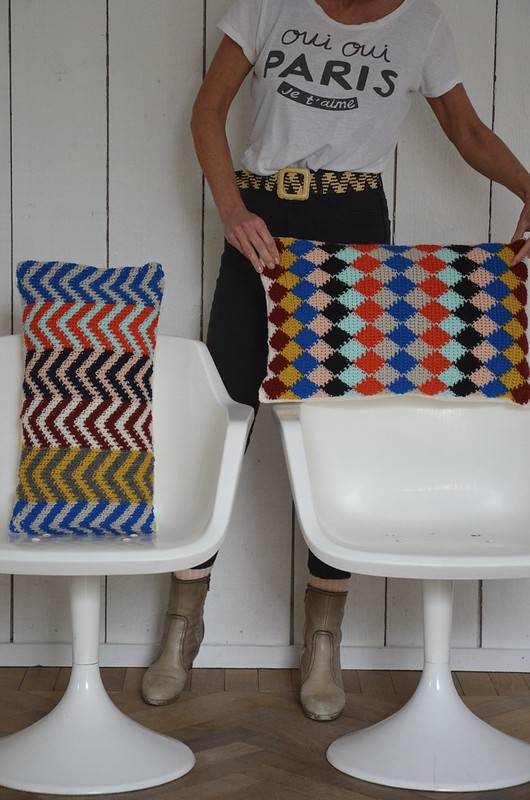woodwoolstool pillows