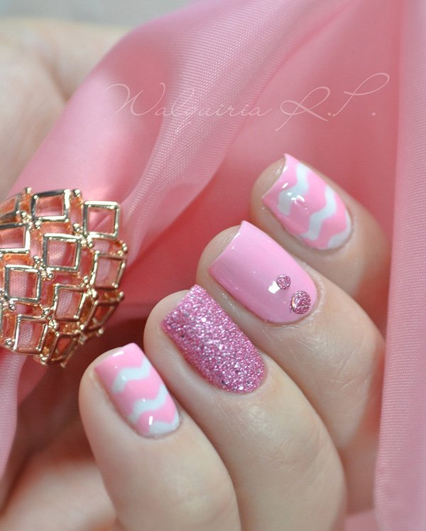 Pink archives fashion 2d acrylic nails prinsesfo Image collections