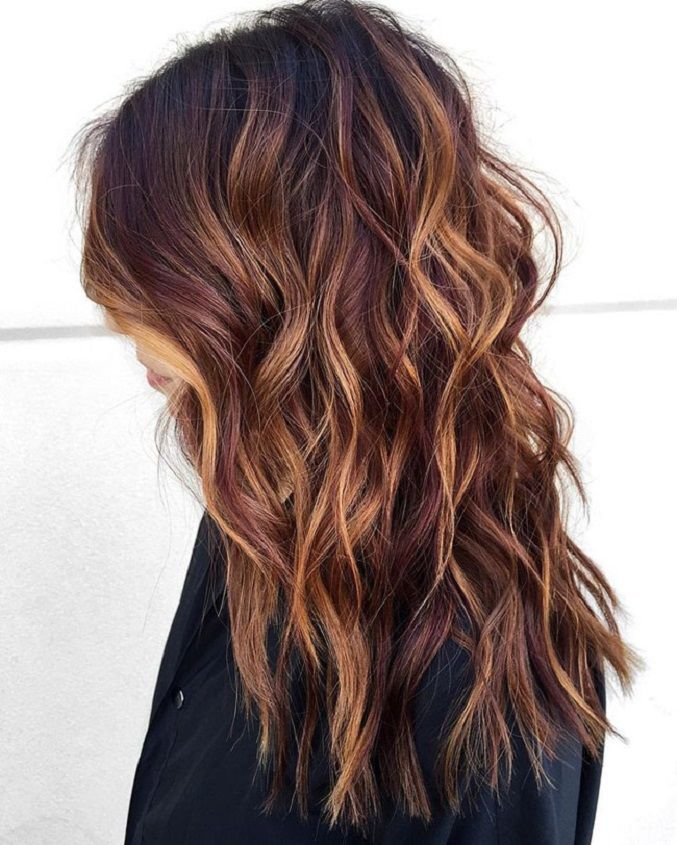 Dark Hair Color Trends 2019: Cool Hair Color Ideas & Trends In 2018 / 2019