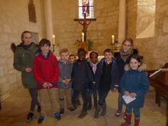 14 enfants eveil à la Foi et leurs aînés - Photo of Saint-Genis-d'Hiersac