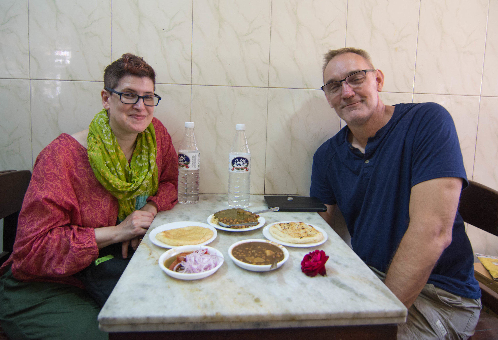 Food tasting in Old Delhi