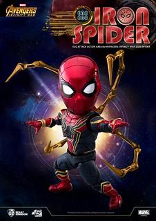 眾所期待的鋼鐵爪臂來啦~~ 野獸國 Egg Attack Action 系列《復仇者聯盟3:無限之戰》鋼鐵蜘蛛人 Iron Spider EAA-060