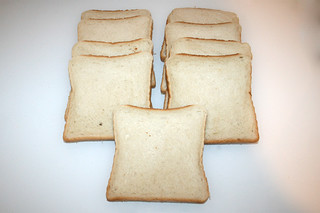 08 - Zutat Sandwichtoast / Ingredient sandwich toast