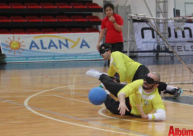 Alanya'da Goalball Şampiyonası başladı -3
