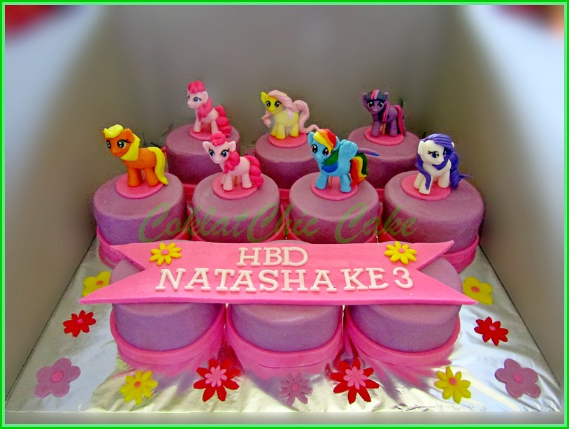 Minicake My Little Pony NATASHA