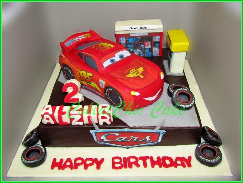 Cake Cars McQueen 18 cm