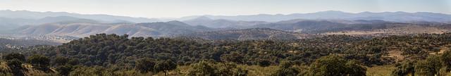 Spain - Badajoz - Fuente del Arco - Views from La Jayona Mine