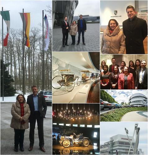 Visita de la Cónsul Villanueva a empresas de la industria automotriz y reunión con la comunidad mexicana en Stuttgart