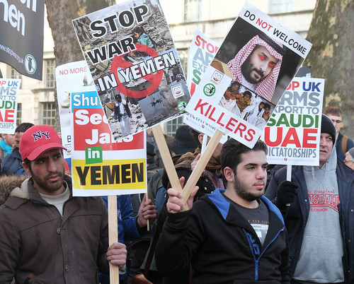 Stop the War in Yemen! (London protest)