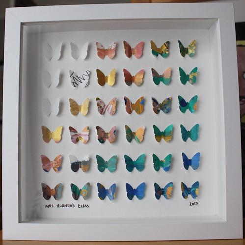 Auction Project: First Grade Paper Butterflies