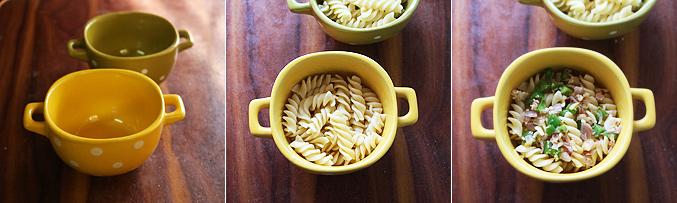 How to make mushroom pasta bowl recipe - Step5