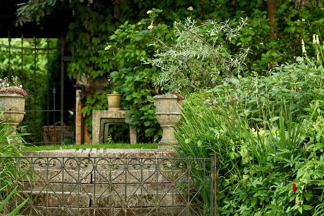 Trapje in de tuin