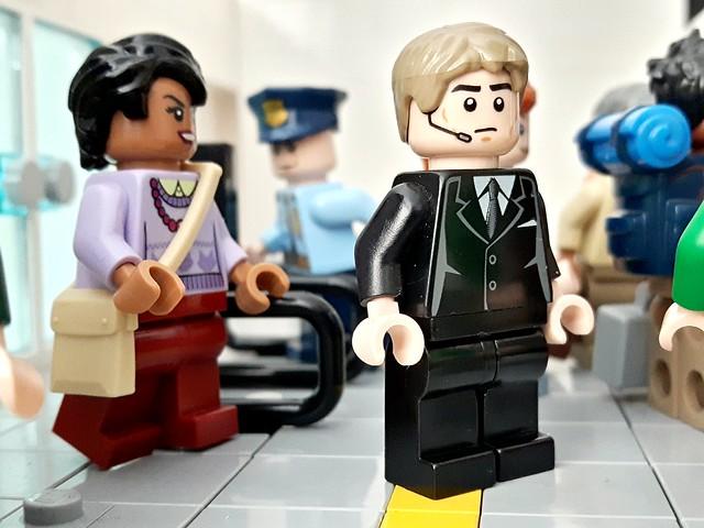 Skyfall, 007 subway chase scene...
