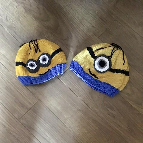 Nina's Minion Hats!
