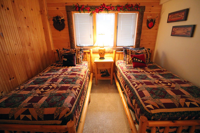 Excellent space for kids...room for bunk beds and adjoining rec room and ski tuning room with full bath;