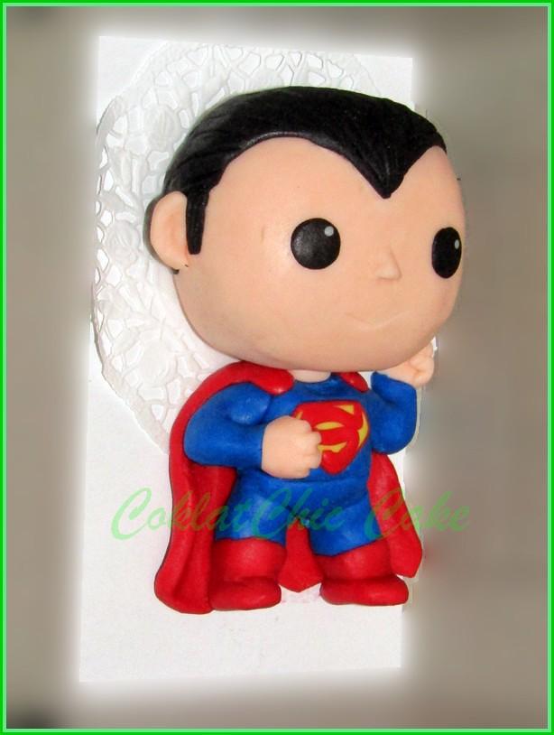 Minicake Superman 10 cm
