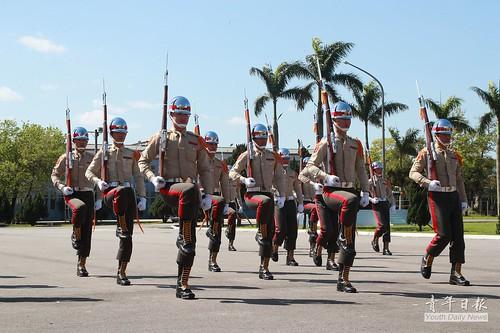 107年國防部三軍儀隊競賽