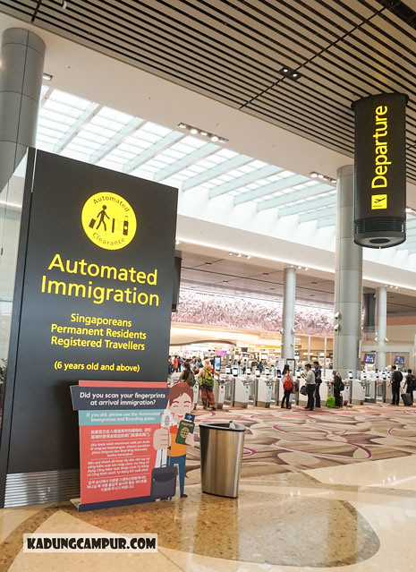 changi airport t4 automated immigration - kadungcampur