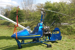 G-CBNX Bensen B.8MR [PFA G/01A-1345] Popham 020509