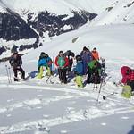 Freeriden in Davos März 18'