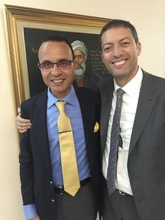 A destra, Vincenzo Abbinante