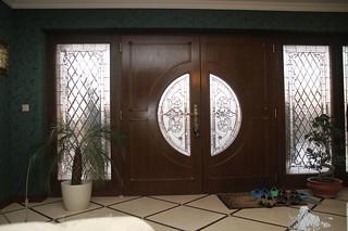 vitráž v izolačním trojskle