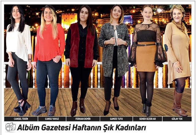 Cansel Tekin, Cansu Yavuz, Ferhan Demir, Gamze Tutu, Seher Sezer Ar, Gülay Tek