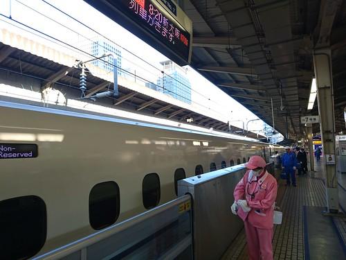 駅のホームドア 201601 東海道新幹線 東京駅