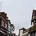 Historic street in St Albans, Hertfordshire