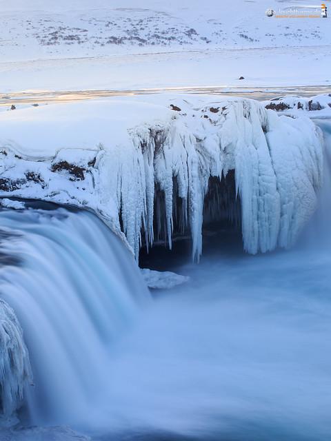 Iced Goðafoss