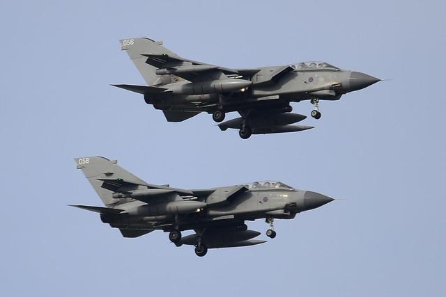 ZA588/056 + ZA591 Tornado GR.1s
