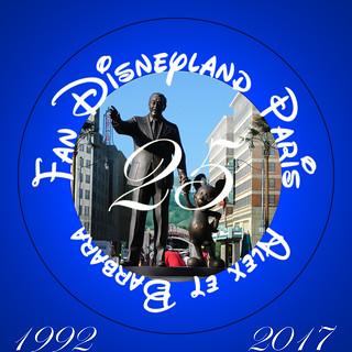 Logo officiel Fan Disneyland Paris