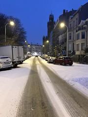 Le square Riga vers l'église d'Helmet