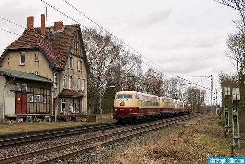 103 113 + E03 001 + 103 235 + DDm als Lr 91340 HH Langenfelde - Koblenz Lützel